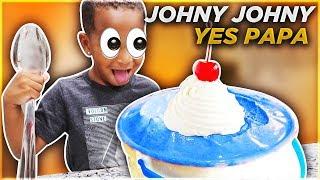 DJ Eats All The Candy Johny Johny Yes Papa