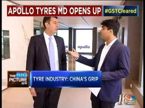 China killing manufaturing industry in India says Neeraj Kanwar from Apollo Tyres