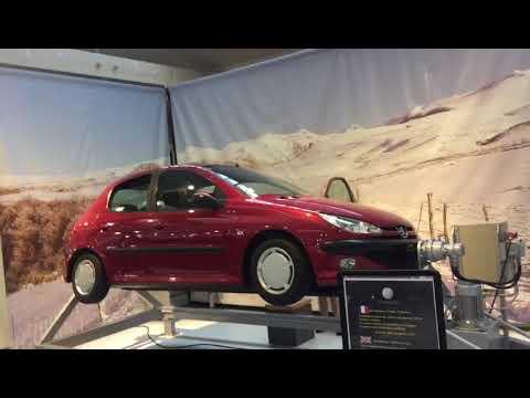 Cite d automobile France. Peugeot demonstration roll car