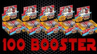 100 MATCH ATTAX EXTRA 2018/19 BOOSTER PACKS | MEGA UNBOXING