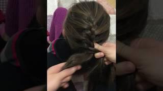 Balıksırtı saç örgüsü/ kolay ve anlaşılır anlatım ☺️