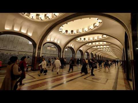 Moscow Metro   莫斯科地鐵