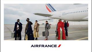 Paris Fashion Week mars 2021, Air France accueille le défilé de mode de Balmain   Air France