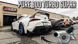 THIS PURE800 TURBO SUPRA RIPS! (Dyno Numbers, Ridealong, Reactions!)