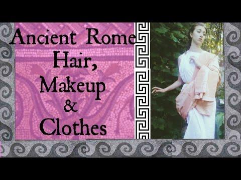 Ancient Rome Hair Makeup & Clothes