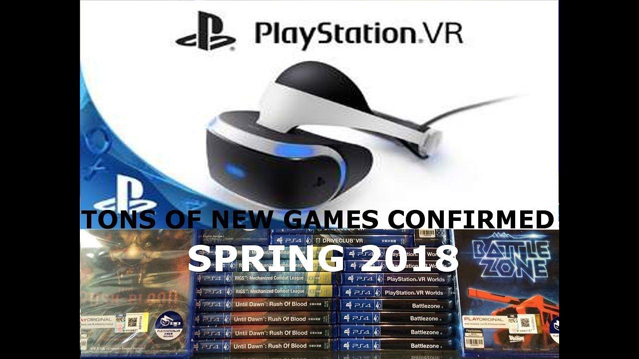 Top New Games Playstation4 Vr Ps4 Vr April May 2018 Top