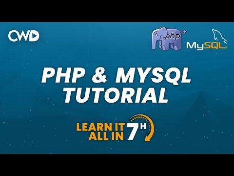 PHP & MySQL Tutorial | Learn PHP From Scratch | Full Tutorial