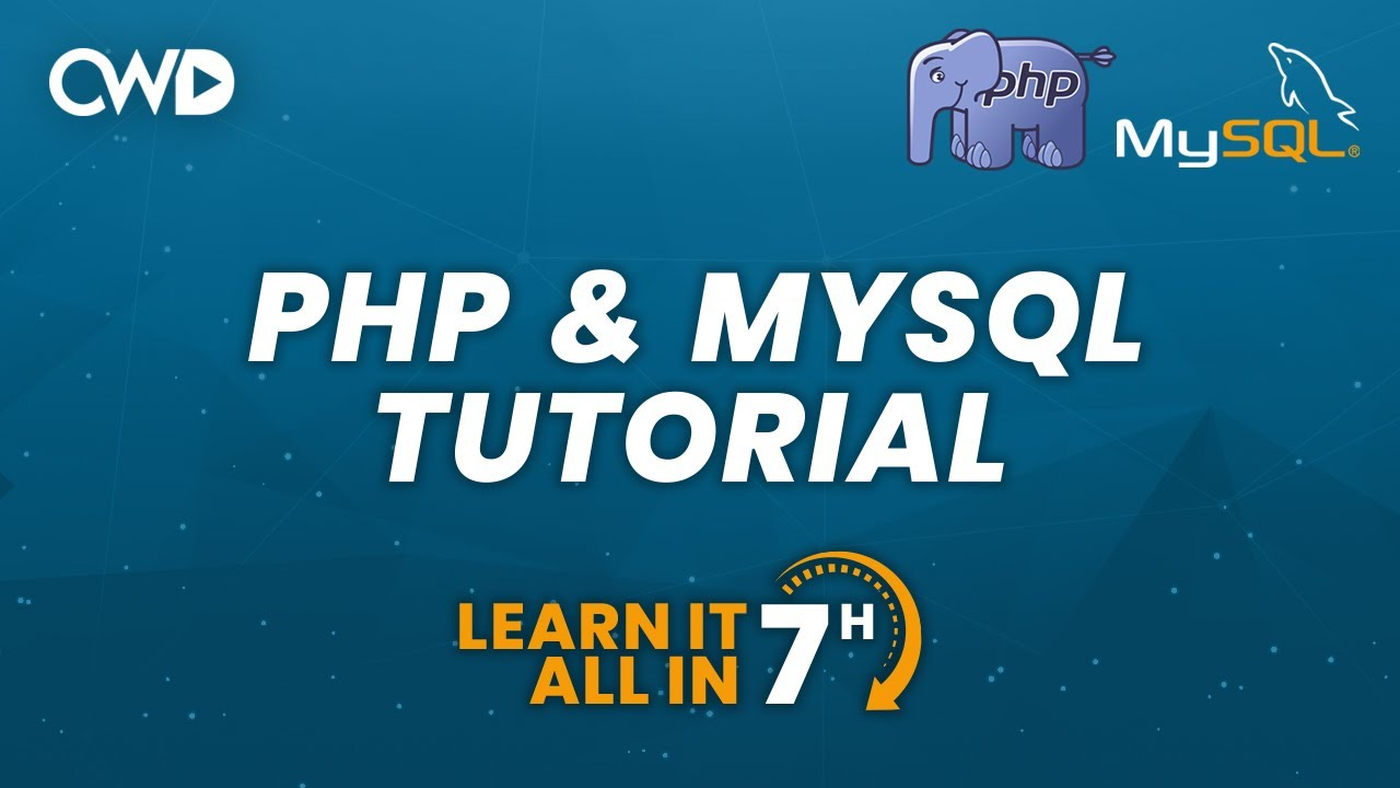 PHP & MySQL Tutorial In 2020 | Learn PHP From Scratch | Full Tutorial