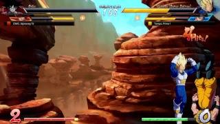 Dragon ball fighterz:Fighting Friends