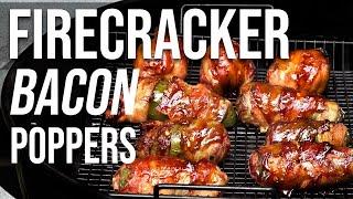Bacon Firecracker Jalapeno Pepper Poppers