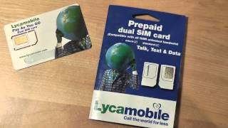 REVIEW: Lycamobile Prepaid Plan (Pay As You Go)
