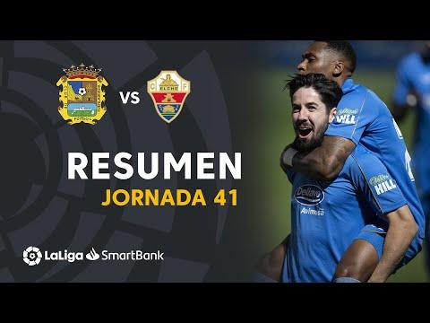 CF Fuenlabrada Elche Goals And Highlights