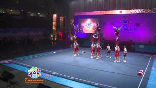 cwc  2013 CHEER FEMALE JAPAN