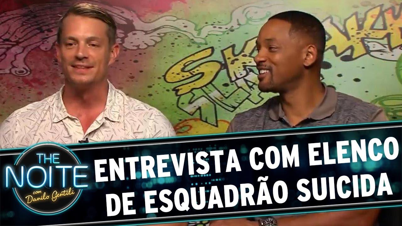 The Noite (05/08/16) - Entrevista com elenco de Esquadrão Suicida