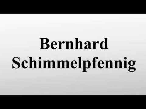 Bernhard Schimmelpfennig