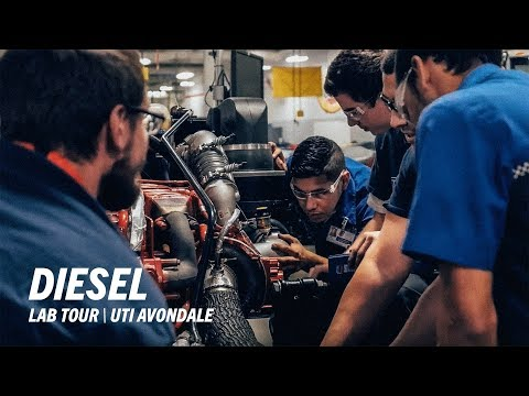 Universal Technical Institute - Avondale Diesel Lab Tour