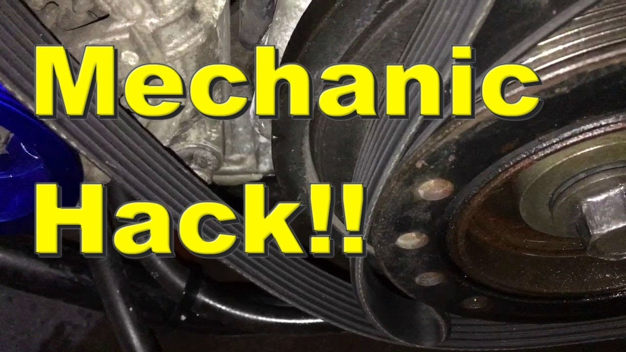 Seized Bolt Removal: How to Remove Crank pulley bolt EASY! breaking threadlocker