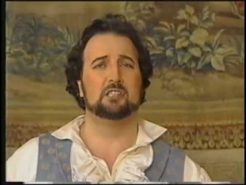 Manrico Tedeschi profile on Ottawa TV singing Tosca excerpts