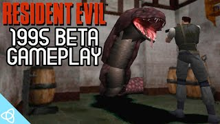 Resident Evil 1995 Beta Gameplay [Early Version with Beta and Cut Content]
