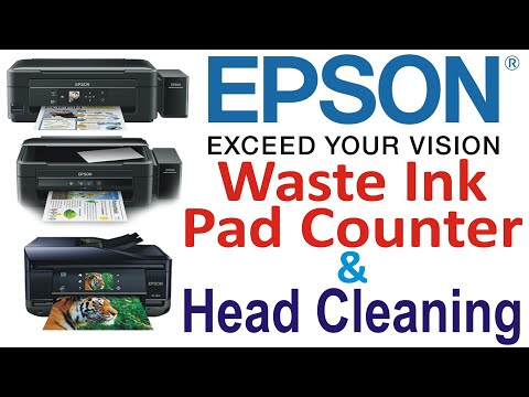 How To Head Cleaning Epson L210,L220,L360,L380 by Azeem Printers