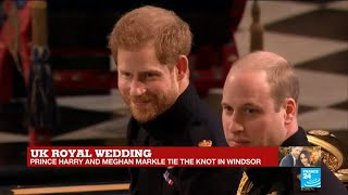 UK Royal wedding: Prince Harry awaits his bride in the Windsor Chapel