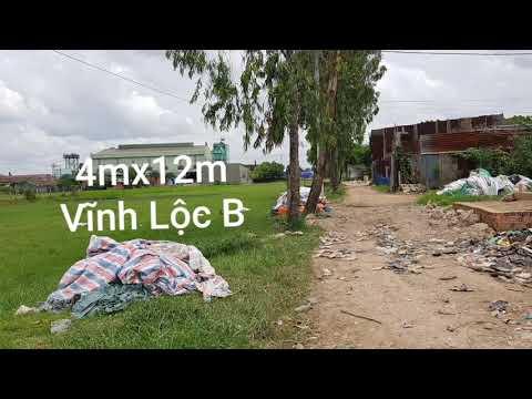 Đất 4mx12m Vĩnh Lộc B sẹc Lại Hùng Cường Bình Chánh 380tr