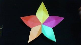 Cara Membuat Origami Bunga Sakura | Origami Bunga dan Tanaman