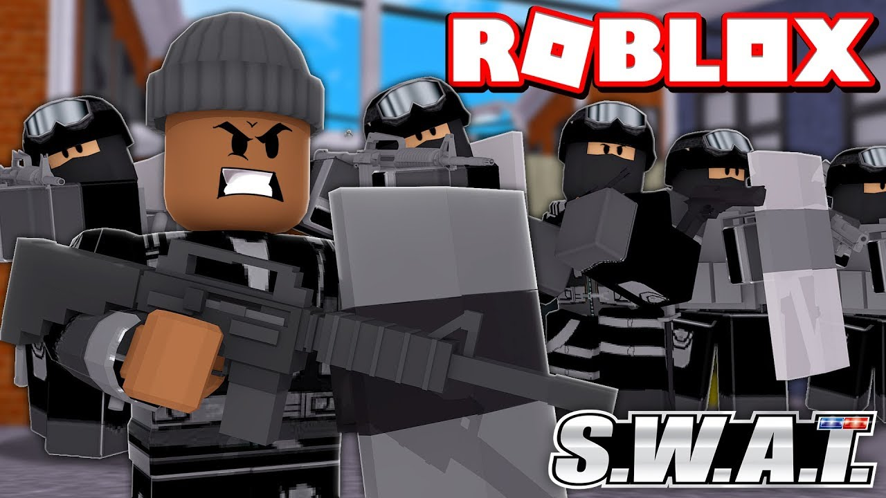 Becoming The 1 Swat Team In Roblox Swat Simulator Youtube