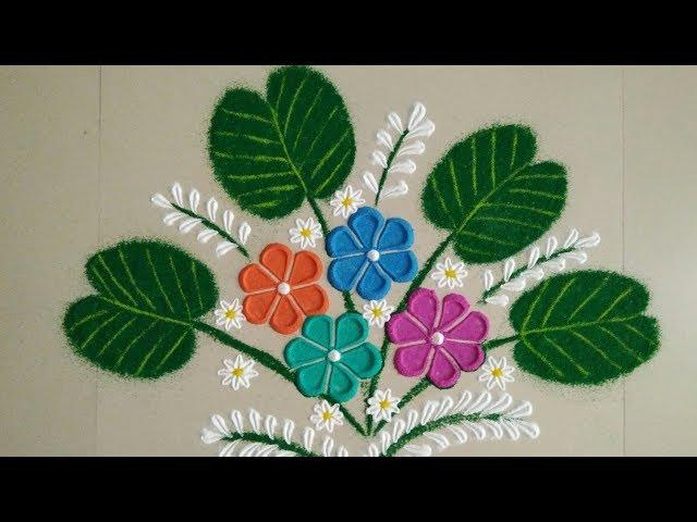 Navratri,Dussehra  special small Rangoli designs     by Aarti Shirsat     Top Rangolis