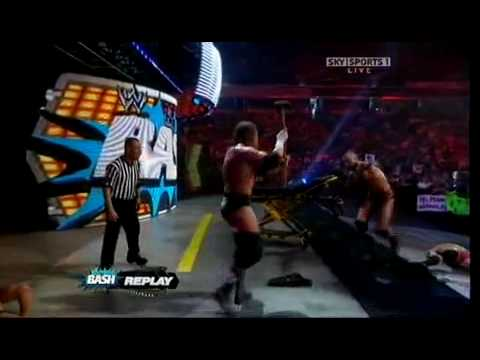 Randy Orton vs HHH Bash 3/3