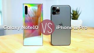 Apple iPhone11 Pro vs Samsung Galaxy Note 10: camera comparison