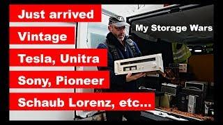 Vintage Audio Tesla, Unitra, Sony, Pioneer, Technics ... My Storage Wars II. - Moje Válka Skladů