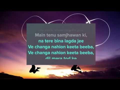 Samjhawan Lyrics   Sanam