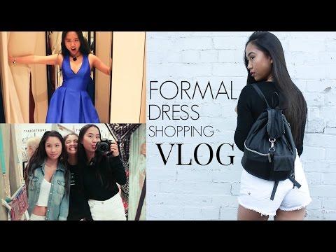 Formal Dress Shopping | VLOG ☆ THERESATRENDS