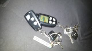 Привязка брелка к сигнализации Pantera