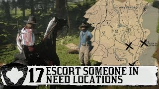 Escort Someone in Need Mission - 17  Locations  RDR2 Online Daily Challenge  Red Dead Guide