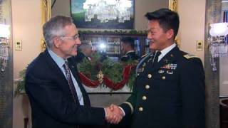 Keeping The Promise: Lt. Dan Choi and Senator Reid