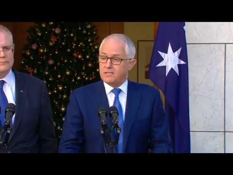 Turnbull Announces Banking Royal Commission (Nov 30, 2017)