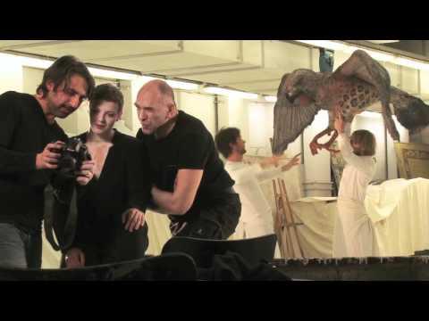 Hinter der Bühne: Bernd Grawert und Patrycia Ziolkowska Fotoshooting