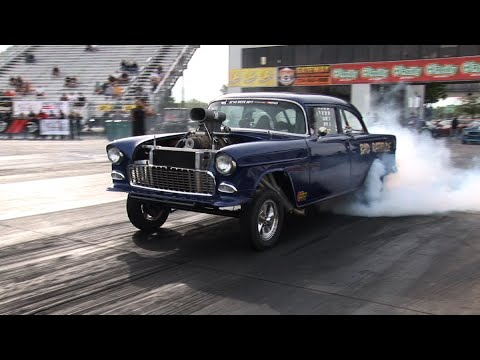 Best Of 55-57 CHEVYS Drag Racing In HD