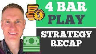 DAY TRADING | 4 Bar Play Trade Recap