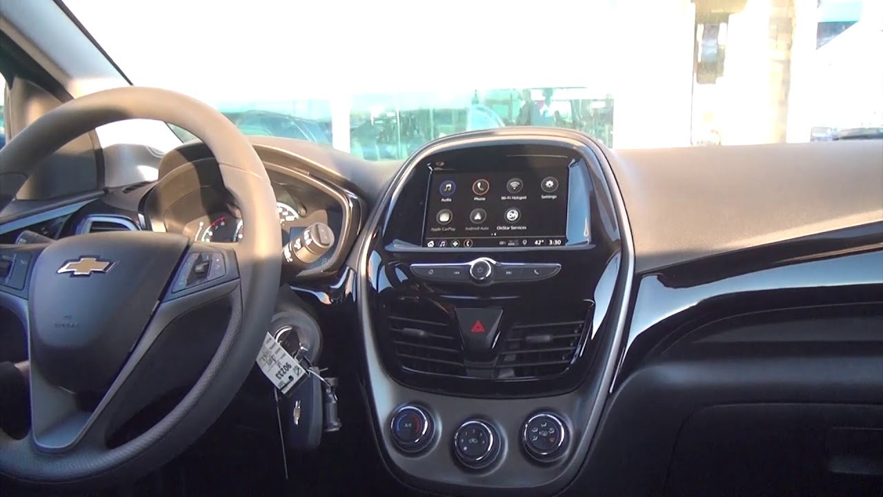 Phillips Chevrolet - 2019 Chevy Spark - Interior Features - YouTube