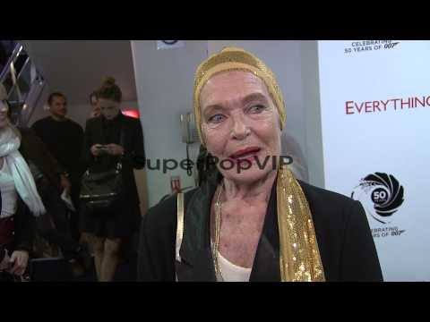 : Shirley Eaton, former Bond girl on being paint...