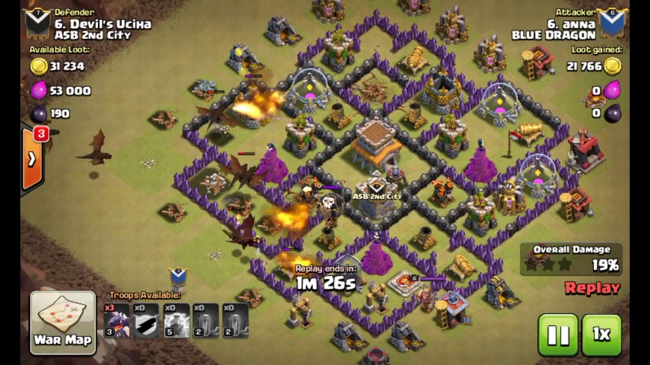 Base Coc Th 8 Terkuat War 5