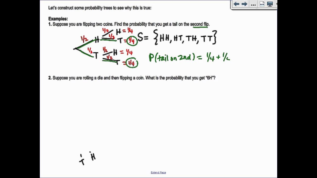 Section 122 Algebra 2 Probability YouTube Maxresdefault  Watch?v=cGyAGBM43Zg. Independent And Dependent Probability Worksheet