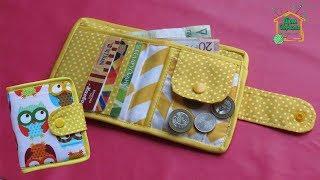 шьем кошелек своими руками/ Маленький яркий складной кошелек от SvGasporovich