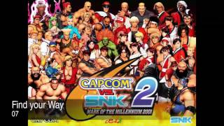 Capcom vs SNK 2 Complete Soundtrack OST