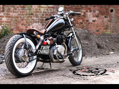 Honda Rebel 125 Black Bobber By Www Twinthing Co Uk Youtube