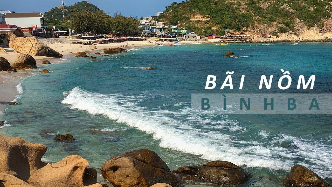 Bãi Nồm đảo Bình Ba du lịch Tắm Biển và Lặn ngắm San Hô bãi Thiên Thuỷ | ZaiTri