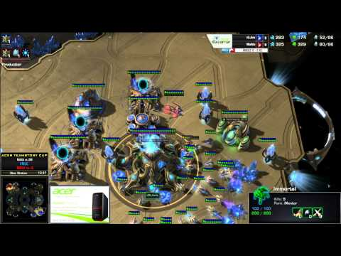 Mana (P) vs Jim (P) - Acer TeamStory Cup - Mouz vs Invictus Gaming - Game 4